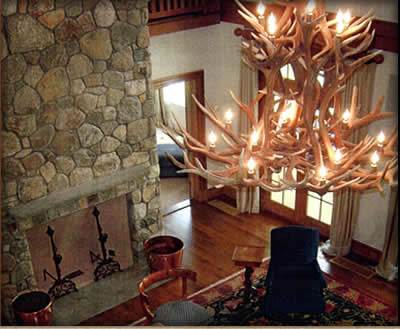 Real antler chandeliers highest quality mozeypictures Gallery