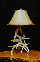 Jim Swansonu0027s Antler Lamps Maintain The Western Motif In Your Home, Lodge  Or Office With Grace And Style. Like His Chandeliers, These Lamps Stand In  Perfect ...