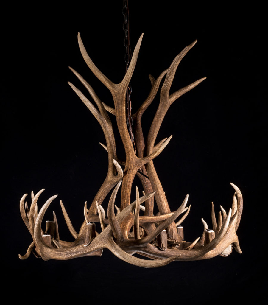 Great Room Real Elk Antler Chandelier