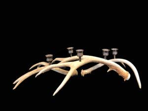 large antler candelabra